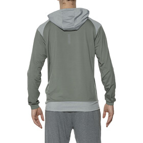 asics Thermopolis Veste à capuche Homme, eucalyptus